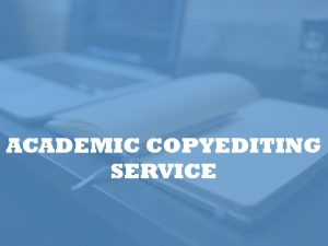 academic proofreader