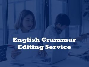 grammar editing service