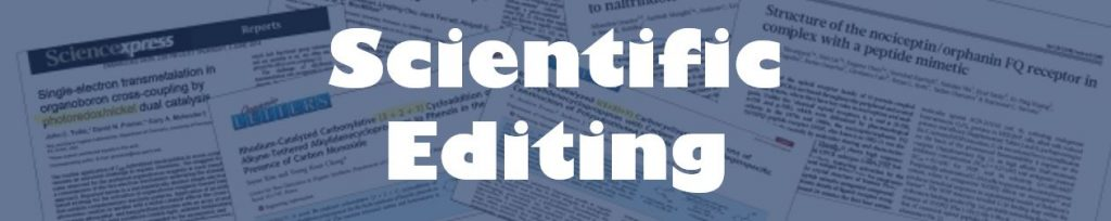 Scientific editing of PhD dissertations