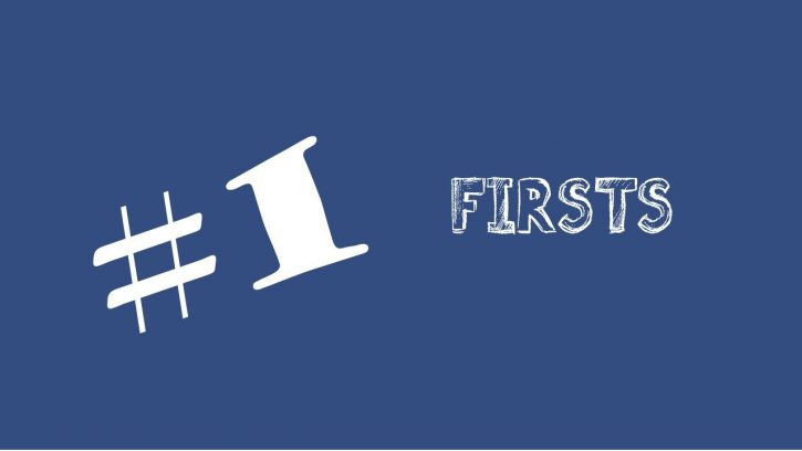 The firsts in English