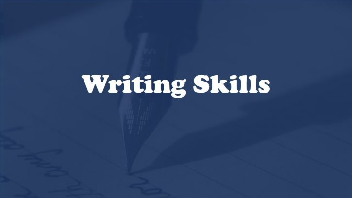 Facts about writing skills