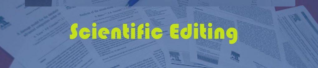 Scientific Editing