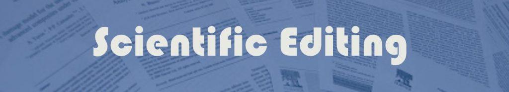 Scientific Editing 1