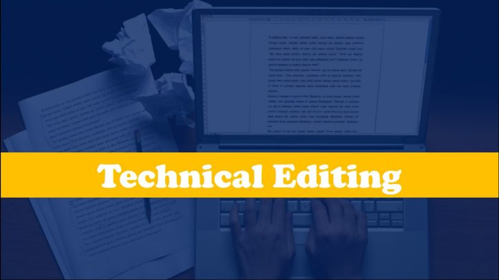 Tips for technical editing