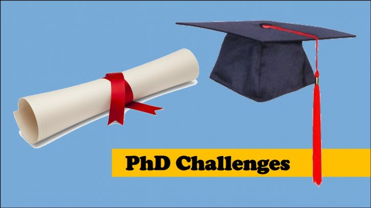 Challenges of Doing a PhD