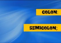 Where to Use Colon and Semicolon