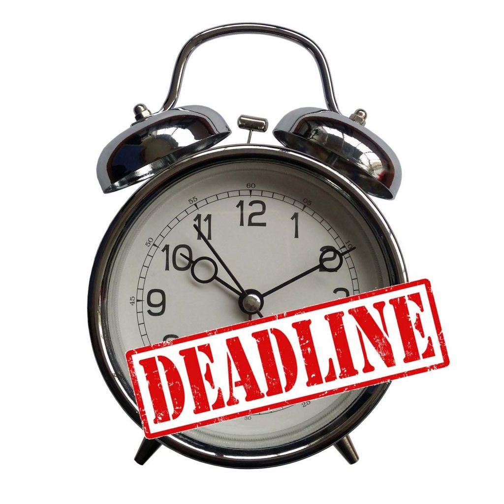 Meeting your deadline