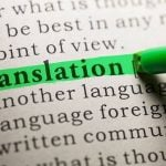 Common mistakes in translation