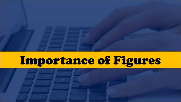 Importance of the figures