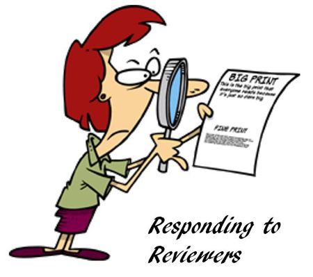 tips for responding to reviewers comments