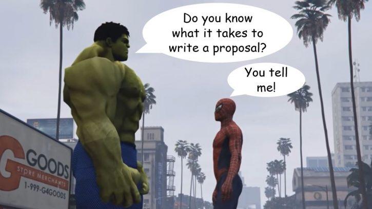 What it takes to write a proposal