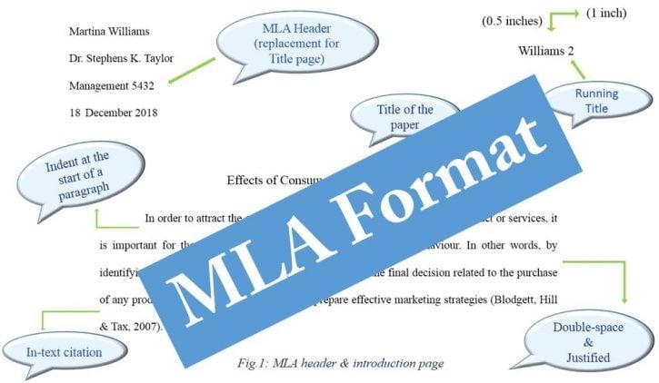 MLA Format and citation