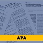 APA format for academic papers and essays