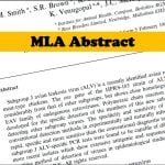 Abstract in MLA format