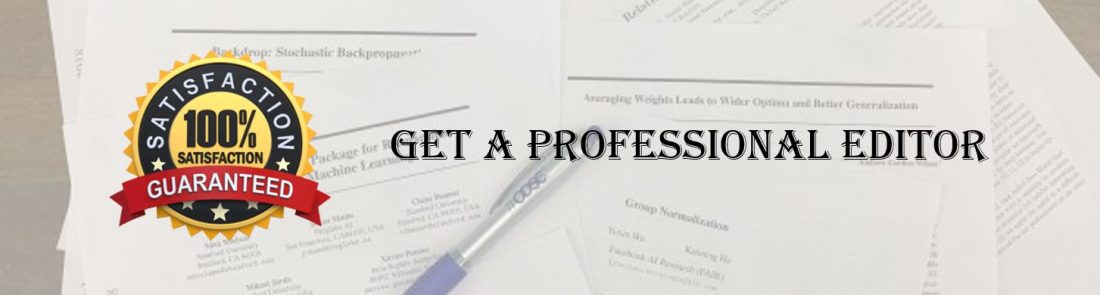 Dissertation Editors For Quality Dissertation Editing Services
