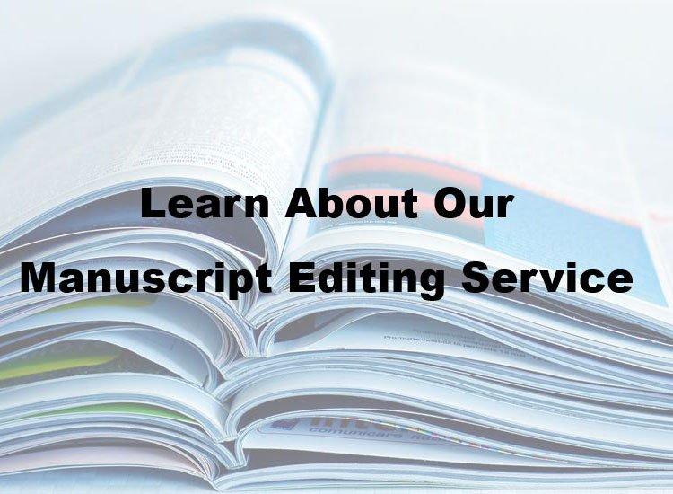 manuscript editing service