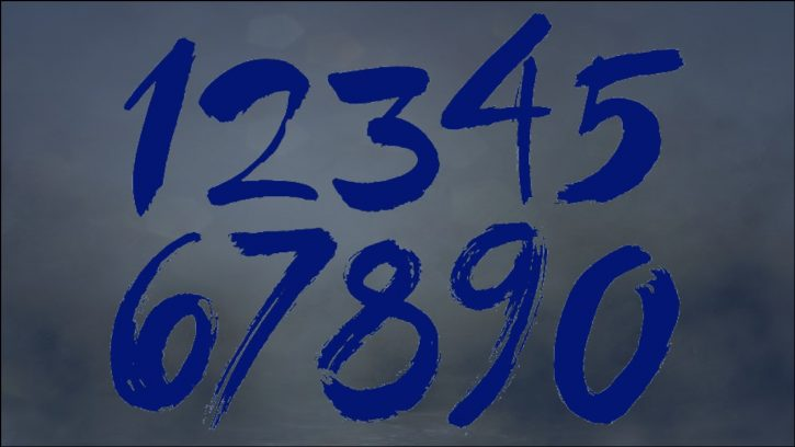 Numbers in Chicago format