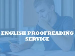 Academic Copyediting Services