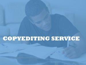 English Copyediting service