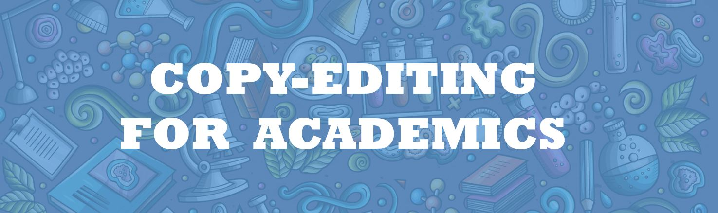 Academic Copy-Editing Services