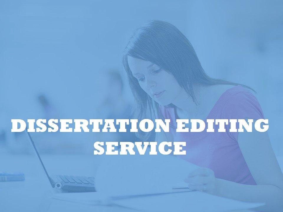 PhD Dissertation Editing