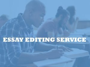 Essay editors by PHD editors