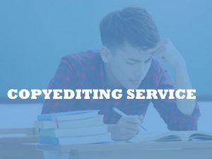 academic copyeditor