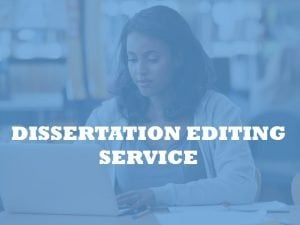 Dissertation editing by PHD editors