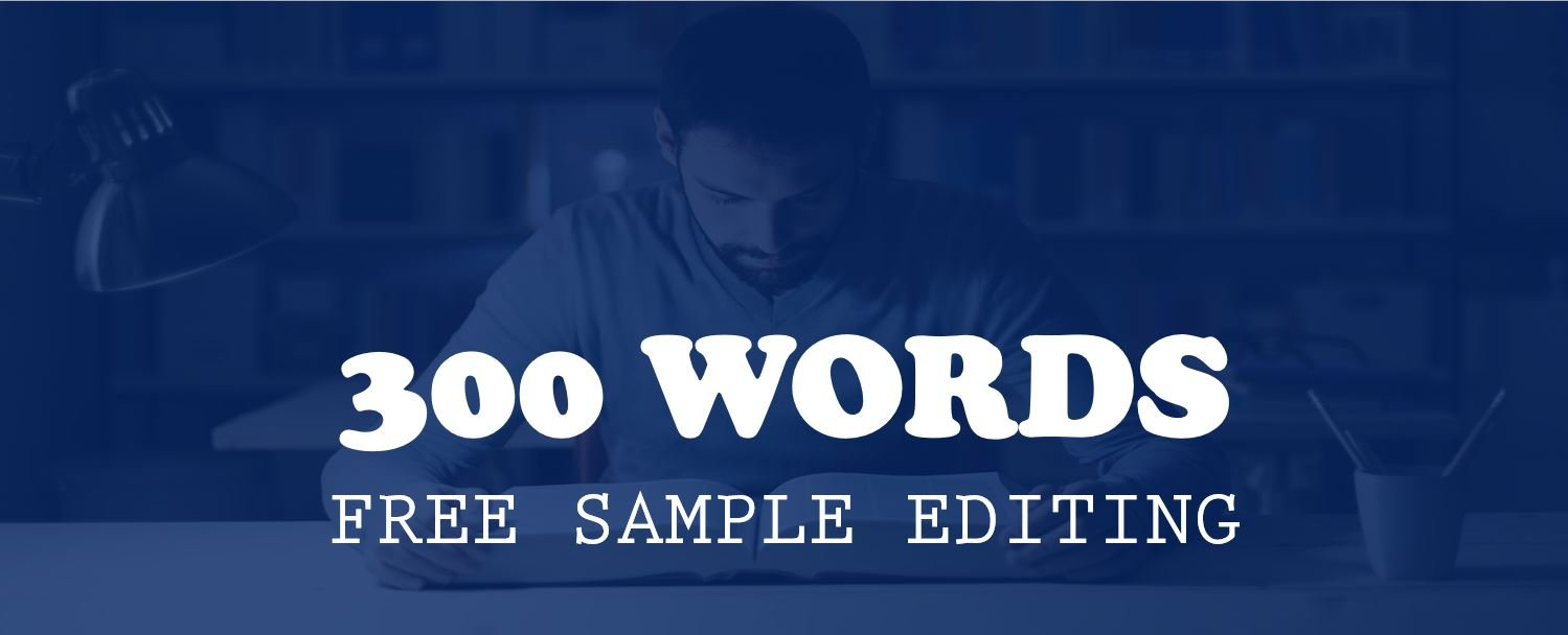 300 words free sample edit