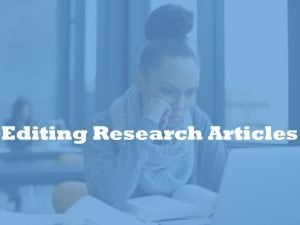 editing research article