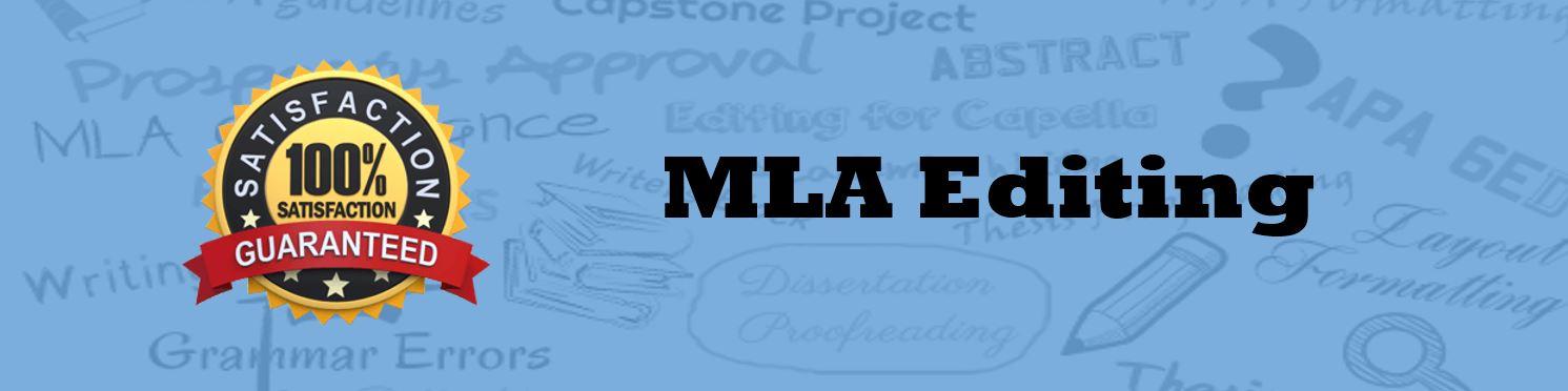 MLA Editor