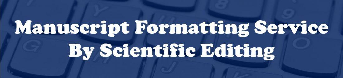 Manuscript Formatting Service