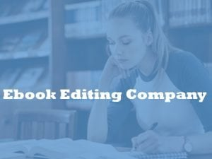 Ebook editing company