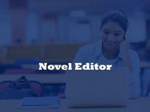 novel editing