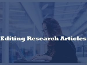 editong research papers
