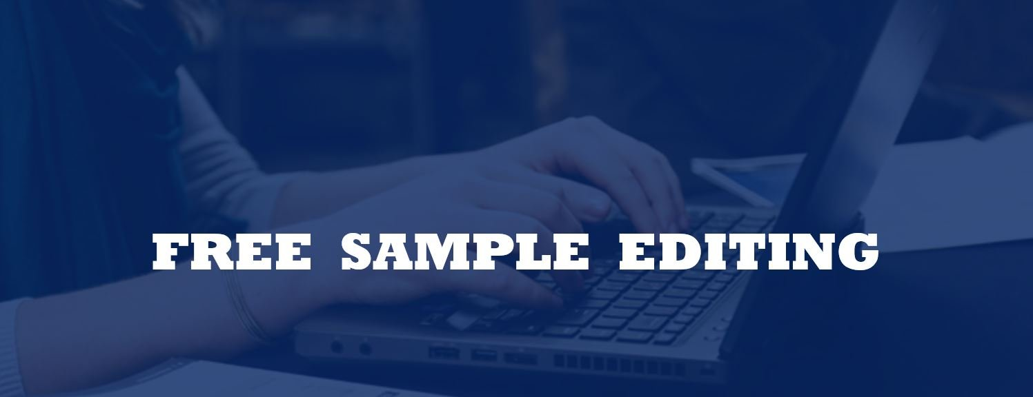 Free sample editing