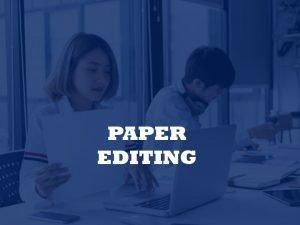 paper editors