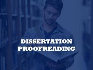 Editing dissertations
