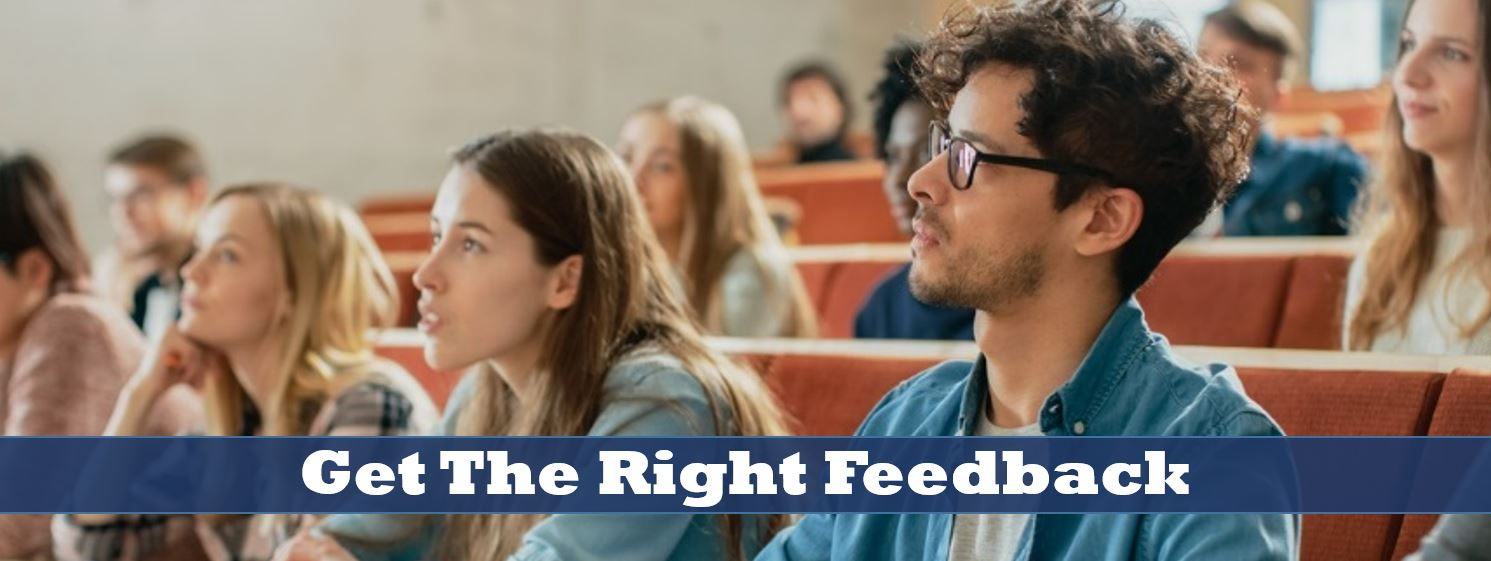 Get tge right feedback for your manuscript