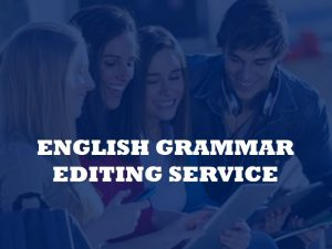 journal article editing services