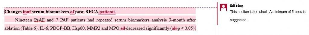 Dissertation scientific editing