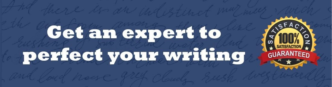 Master's thesis editing services