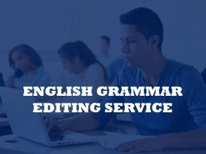 A company for proofreading PhD dissertations