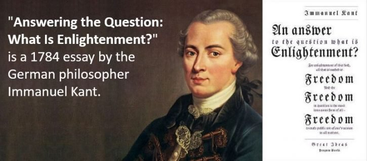 What is enlightmwnt by Immanuel Kant