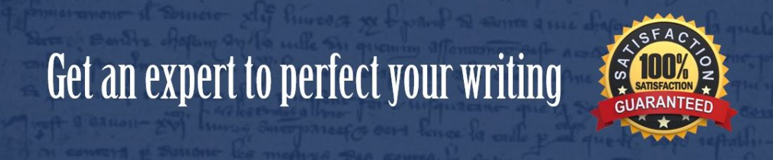 Essay editing and proofreading service