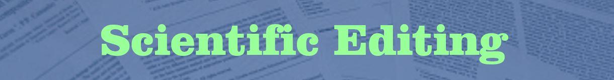 Online grammar editing services by Scientific Editing