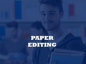 Journal paper editing service