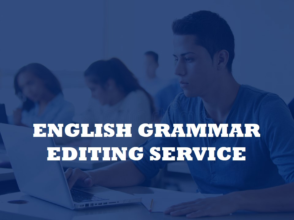 Click here for English Grammar Editing Service