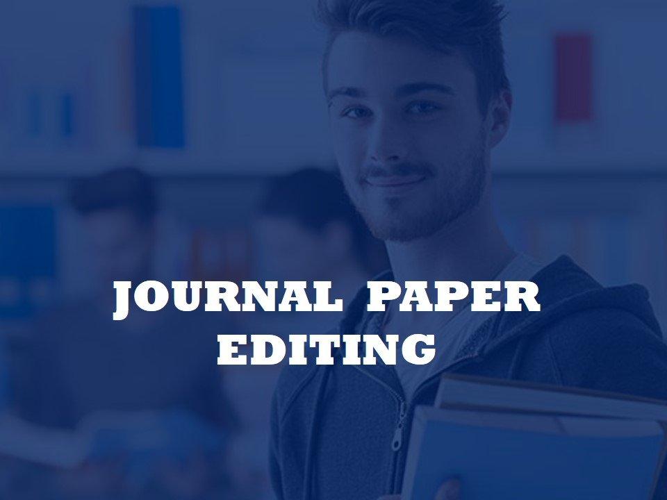 Editing for scientific jurnals