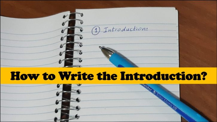 Writing the Introduction - A Clear & Concise Guide 1 | Scientific Editing